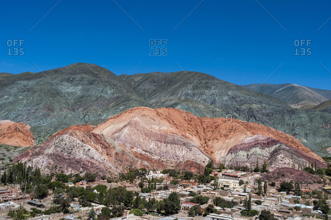 Purmamarca and the hill of seven colors near the Salinas Grandes