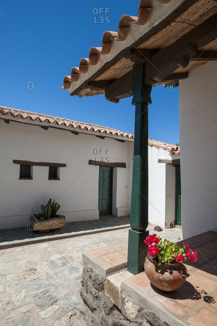 A pretty house in the village of Molinos in the Calchaqui valleys
