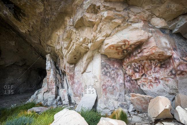Cueva de las Manos in Patagonia in Argentina