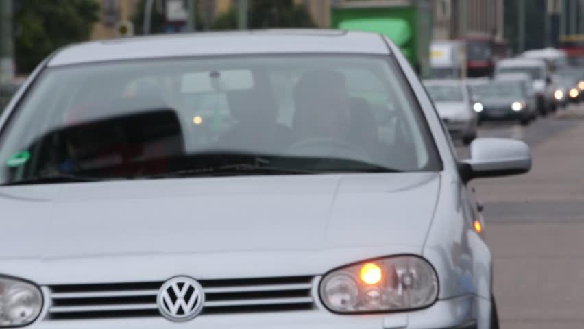 Cars running in urban street | Shutterstock HD Video #10029818