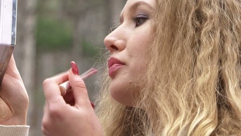 Weißes Mädchen Lesbisch Latina Sappho