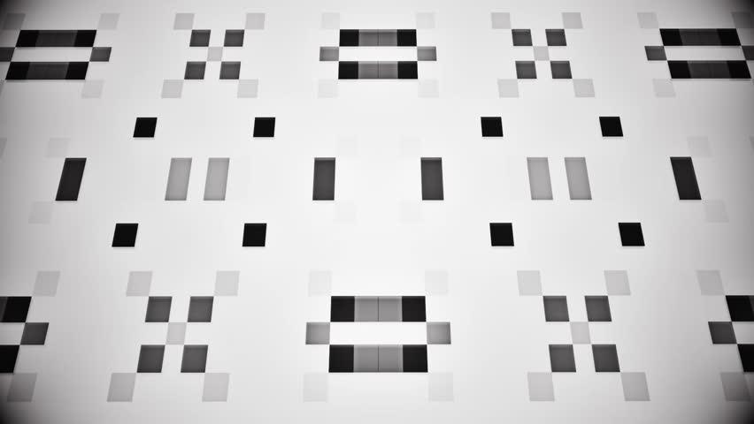 Sci-Fi Black White Artificial Intelligence AI - VJ Loop Background V2   Shutterstock HD Video #1005603550