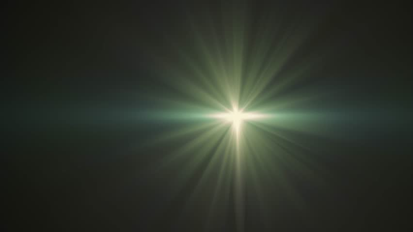 Horizontal green sun star moving lights optical lens flares shiny animation art background - new quality natural lighting lamp rays effect dynamic colorful bright video footage   Shutterstock HD Video #1006629982