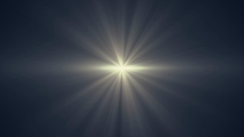 Sun Star Rays Lights Stock Footage