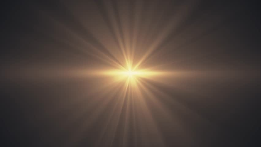 yellow sun star rays lights optical lens flares shiny animation art background - new quality natural lighting lamp rays effect dynamic colorful bright video footage #1006630081
