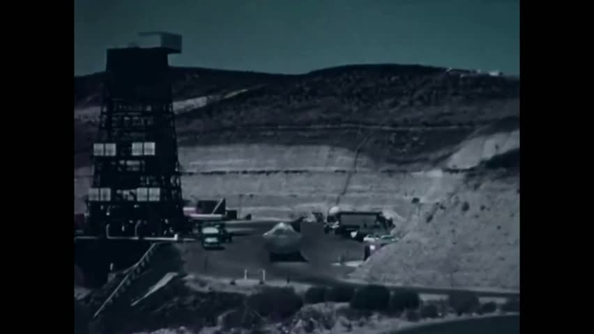 CIRCA 1957\xD1 Test missiles are launched at Edwards Rocket Base. | Shutterstock HD Video #1006646221