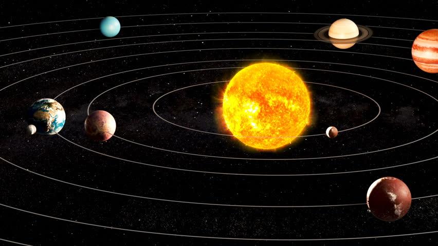 Картинки солнечной системы живые