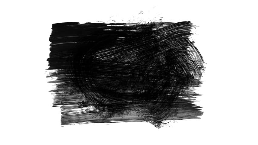 Grunge brush stroke. Abstract hand - painted element. Underline and border design. Seamless looping background. 4K | Shutterstock HD Video #1006852735