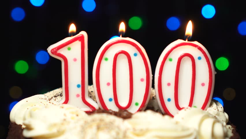 Superb Number 100 On Top Of Stock Footage Video 100 Royalty Free Funny Birthday Cards Online Aboleapandamsfinfo