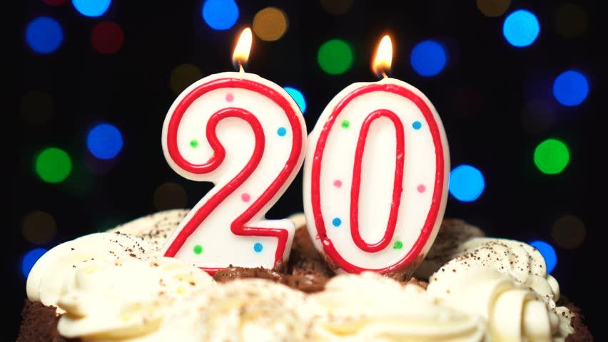Superb Number 20 On Top Of Stock Footage Video 100 Royalty Free Birthday Cards Printable Benkemecafe Filternl