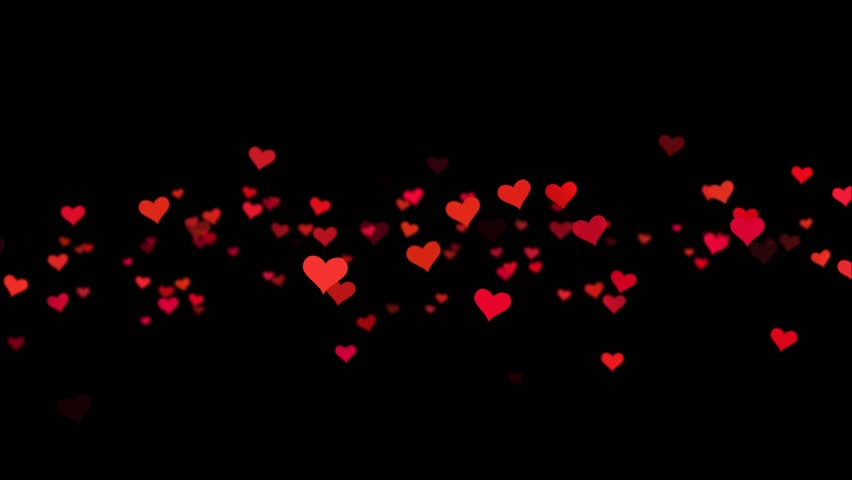 Red and white hearts over a black backdrop. Valentine's day motion background loop. Red small hearts flying on the black background. Valentines Day holiday abstract loop animation.   Shutterstock HD Video #1006950160