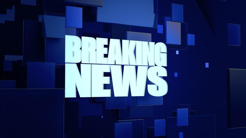 Breaking news intro. 4K UHD footage. | Shutterstock HD Video #1007014516