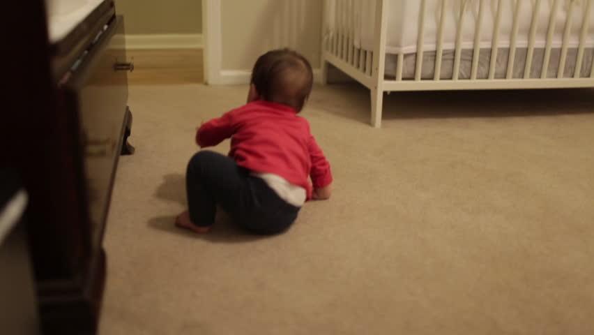 Baby Crawling Away | Shutterstock HD Video #1007026198