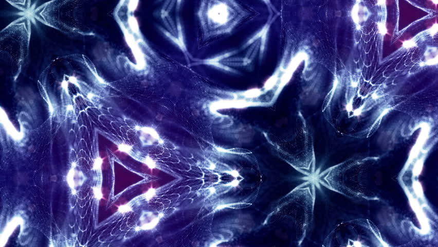 Virtual space with depth of field. Looped holographic blue background as microcosm or nano world. Seamless footage with particles form lines, surfaces, grid. Digital elements suitable for HUD. V36 | Shutterstock HD Video #1007049640