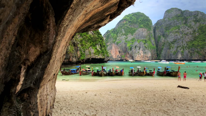 Maya Bay, one of the most beautiful places in the world, Phuket, Thailand