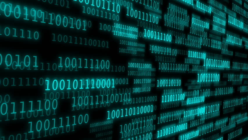 Cyberspace with binary code. A binary data highway background. Camera move through pieces of software source code   Shutterstock HD Video #1007090257