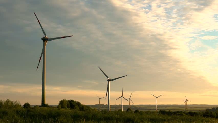 Wind Energy ,wind Power , Stock Footage Video (100% ...