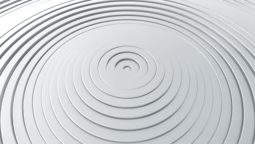 Abstract background with waving surface in motion. Animation of seamless loop. #1007127760
