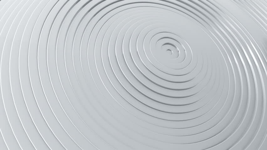 Abstract background with waving surface in motion. Animation of seamless loop. #1007127769