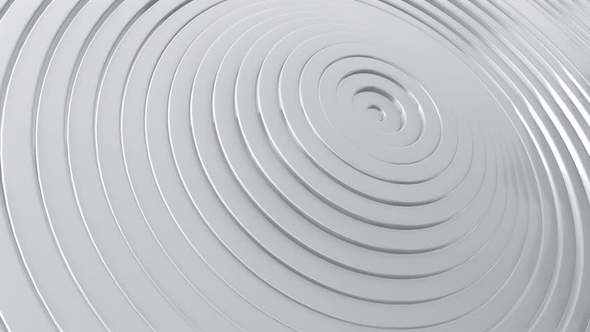 Abstract background with waving surface in motion. Animation of seamless loop. #1007127793