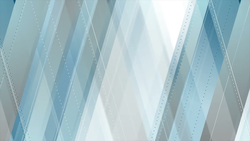 Blue and grey abstract tech geometric minimal motion design. Seamless loop. Video animation Ultra HD 4K 3840x2160 | Shutterstock HD Video #1007132698