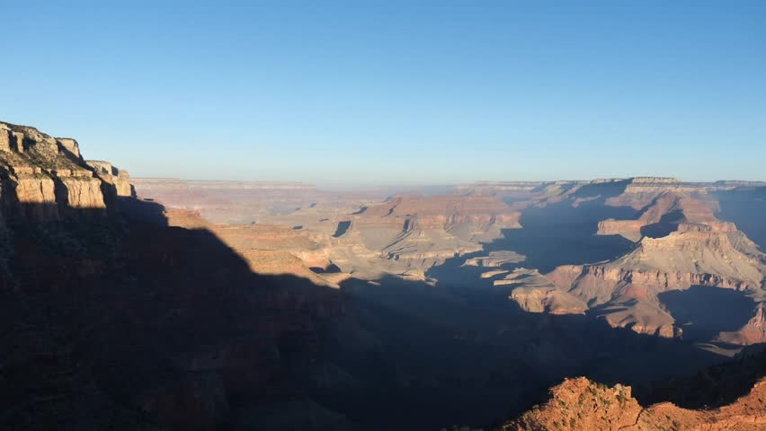Outlook from Ooh Aah Point at Grand Canyon