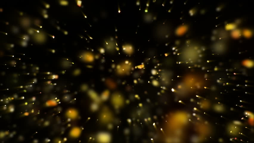 Falling Confetti on Black Background  | Shutterstock HD Video #1007239336
