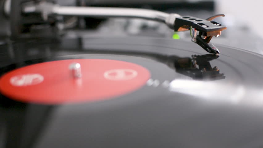DJ Turntable record player playing vinyl | Shutterstock HD Video #1007532538