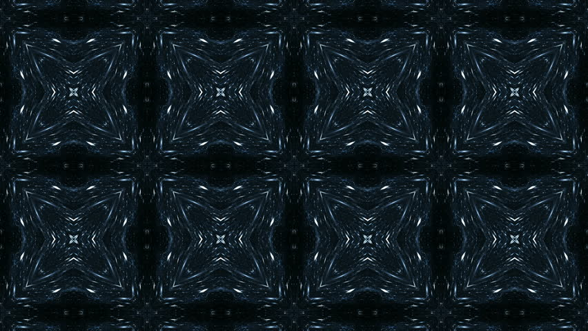 Blue fractal background. Kaleidoscope of color in endless motion. Abstract patterns for meditation, yoga, show, mandala, fractal animation. Seamless loop.   Shutterstock HD Video #1007538106