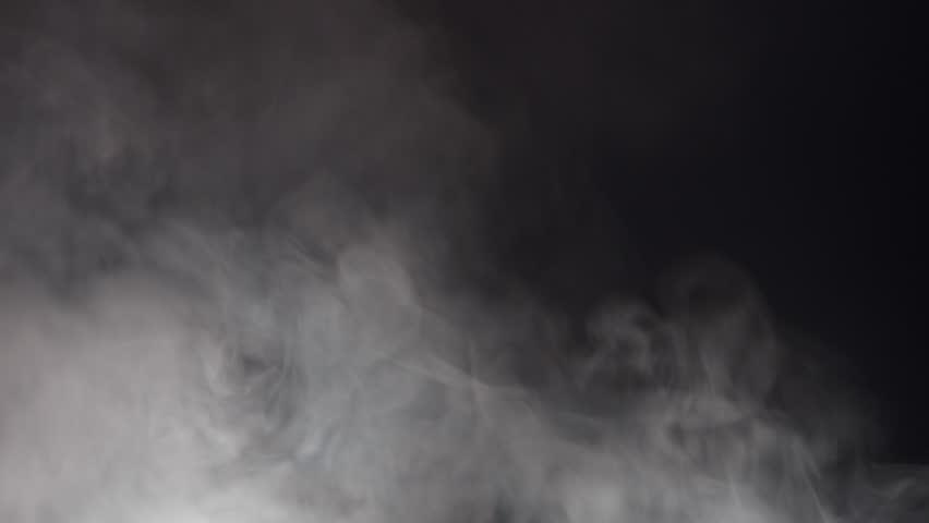 Blue Swirling Smoke Lit From Below #1007540167
