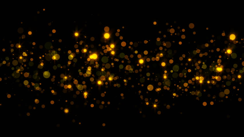 Abstract sparkling particles. 3d rendering gold background. | Shutterstock HD Video #1007596705