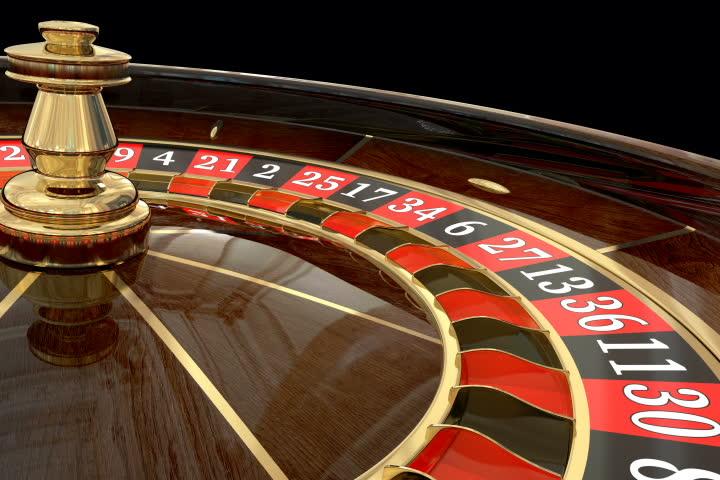 Casino roulette wheel loop. 3D render. Animated mask added | Shutterstock HD Video #1007598745