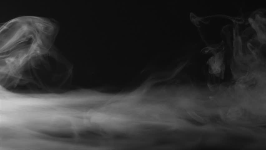 Short Fog Swirling Clip Ultra Slow Motion