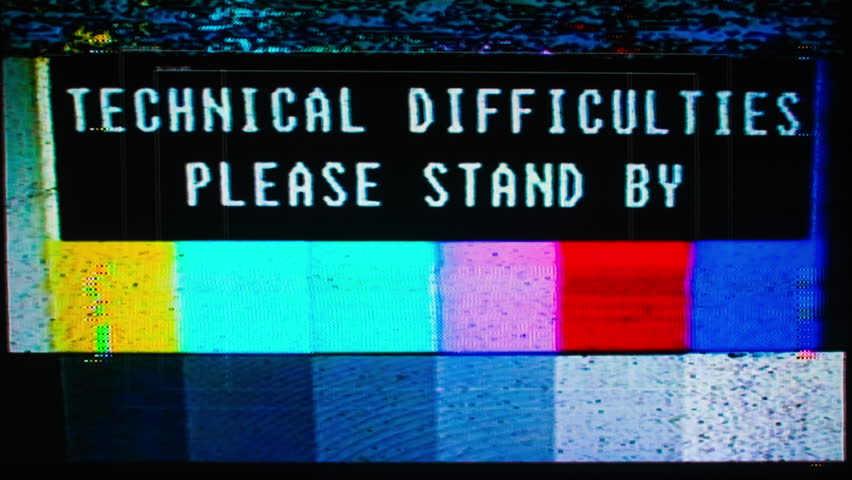 Television test patterns and colour bars with glitch interference and distortion | Shutterstock HD Video #1007674513