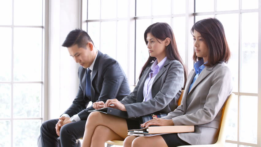 Asian People Waiting for Job Stock Footage Video (100% Royalty-free)  1007701855 | Shutterstock