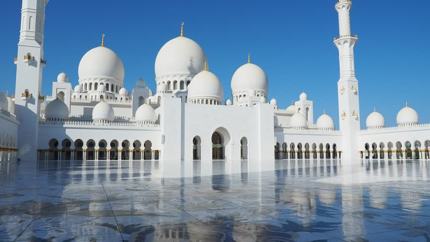 Sheikh Zayed bin Sultan Al Nahyan Grand Mosque, Abu Dhabi, United Arab Emirates
