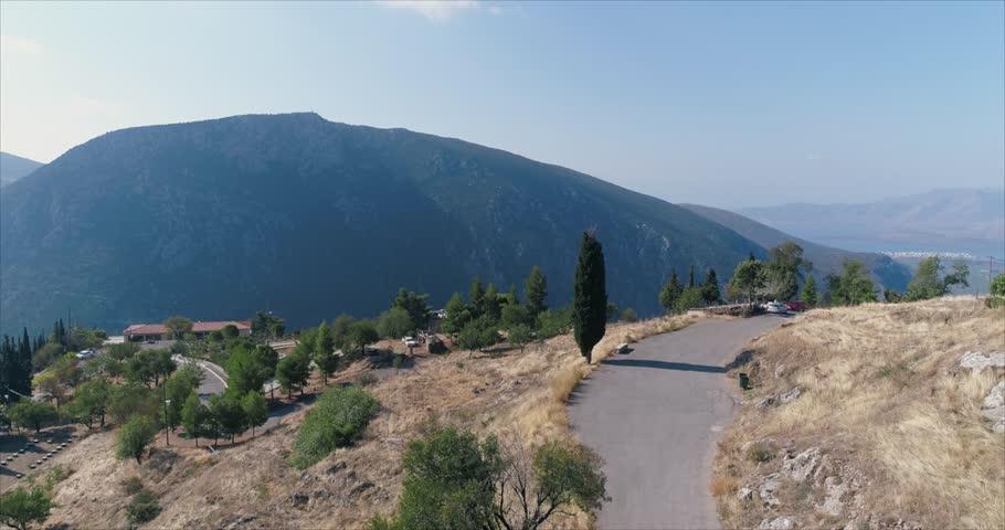 Aerial view on Meteora Greece    Shutterstock HD Video #1007759074