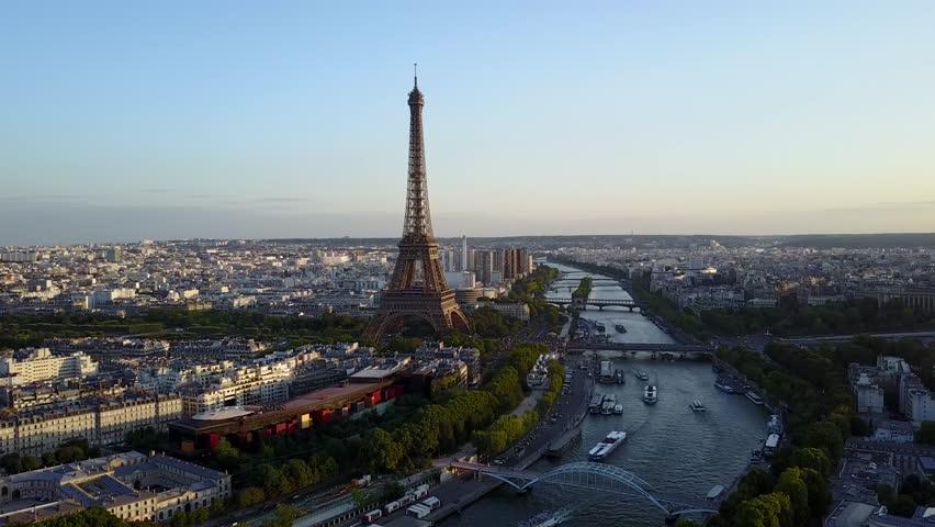 Eiffel Tower Paris | Shutterstock HD Video #1007771929