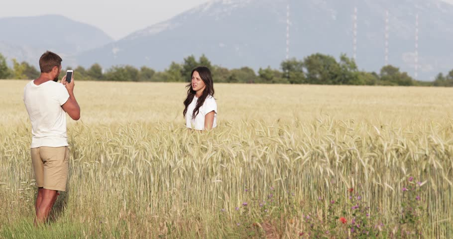 France Provence Beautiful Young Girl Stock Footage Video 100