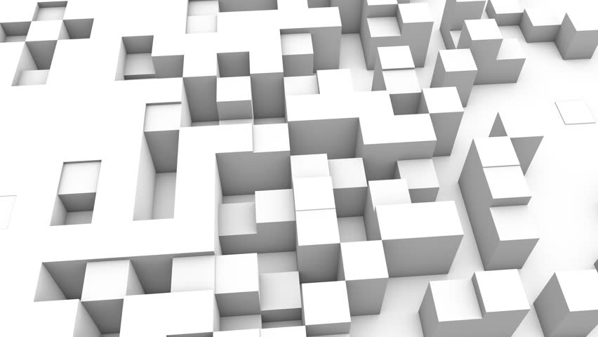 Abstract cubes background transition, 3d Animation 4k   Shutterstock HD Video #1007986438