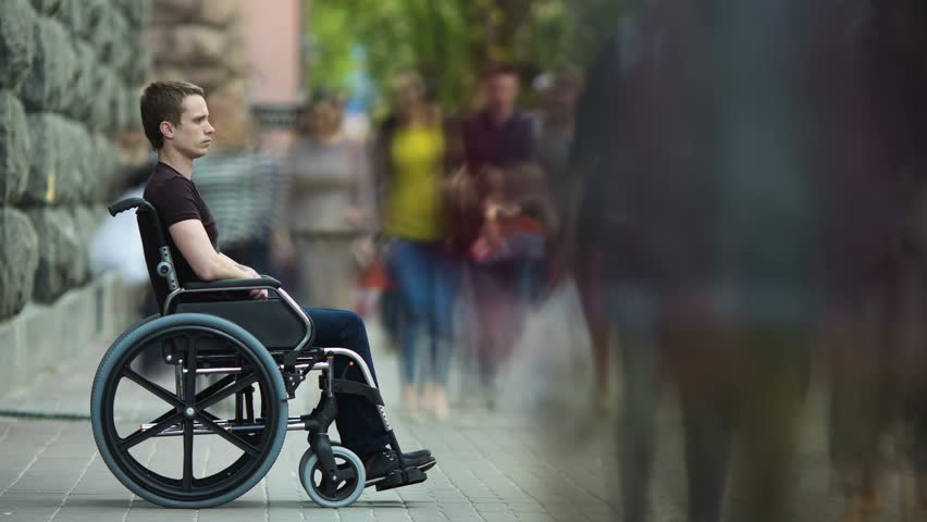 Think that sex and disability don't mix