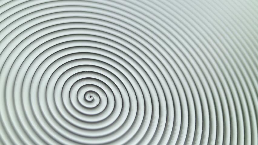 Aluminium texture close up. Super macro view. Smooth rotation. #1008082504