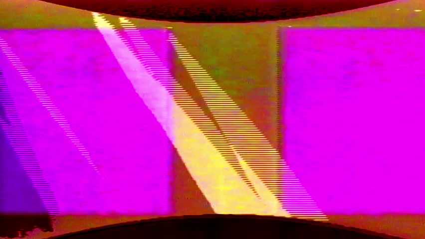 Analog Abstract Video Shapes Signal Noise FeedBack Manipulation   Shutterstock HD Video #1008155737