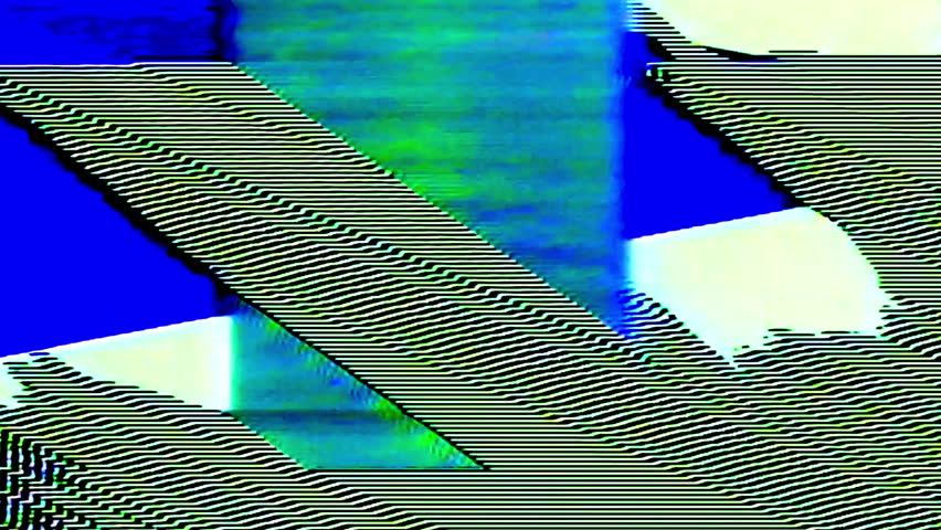 Analog Abstract Video Shapes & Signal Noise FeedBack Manipulation   Shutterstock HD Video #1008234106
