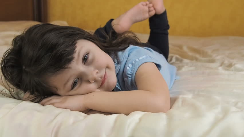 Child In The Bedroom Beautiful Stock Footage Video 100 Royalty Free 1008241234 Shutterstock