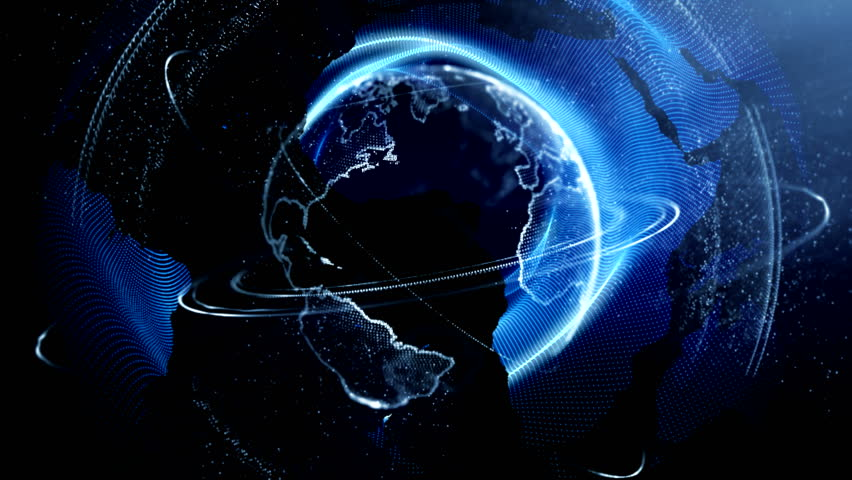 Globe animation background   Shutterstock HD Video #1008274066