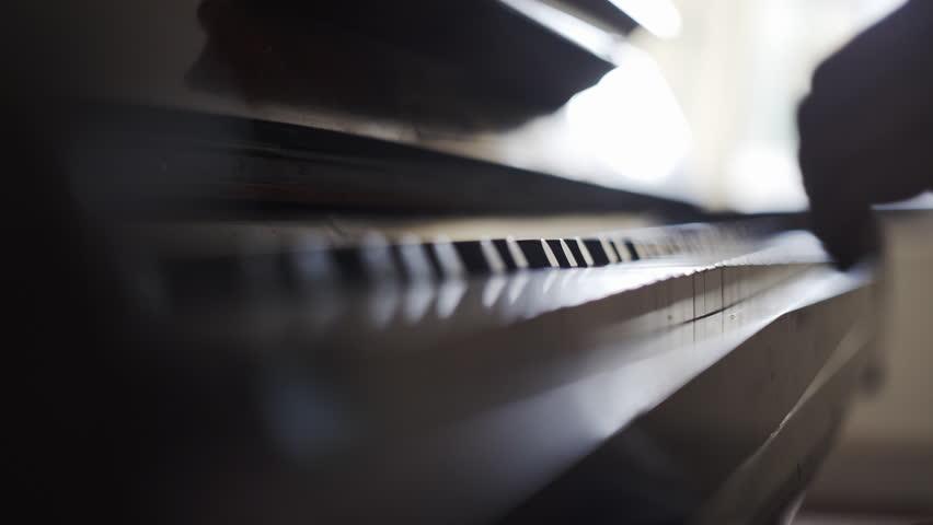 Playing the piano | Shutterstock HD Video #1008276115