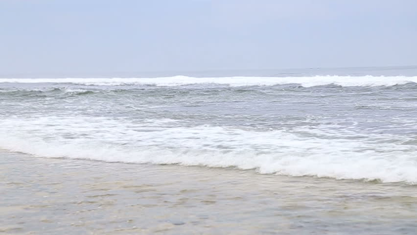 Summer time with white sand and blue sky | Shutterstock HD Video #1008277666