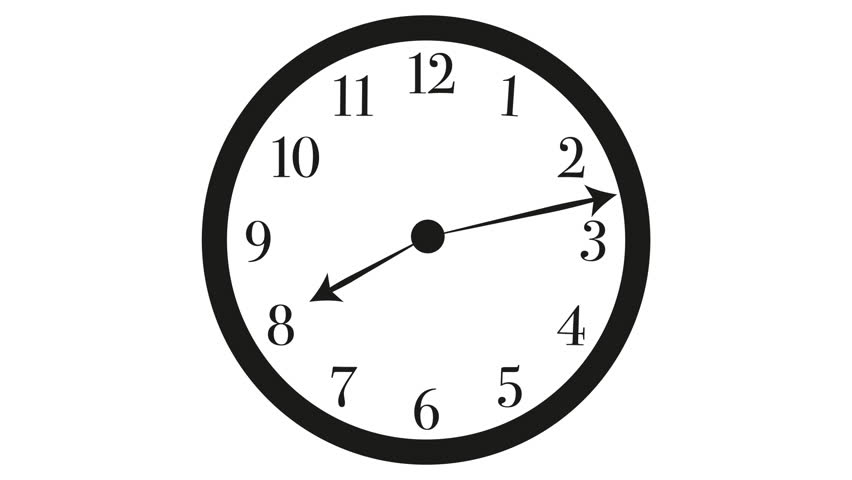 Big Round Clock With Hands Stock, Big Round Clock