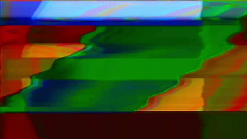 Analog Abstract Video Shapes & Signal Noise FeedBack Manipulation | Shutterstock HD Video #1008352006